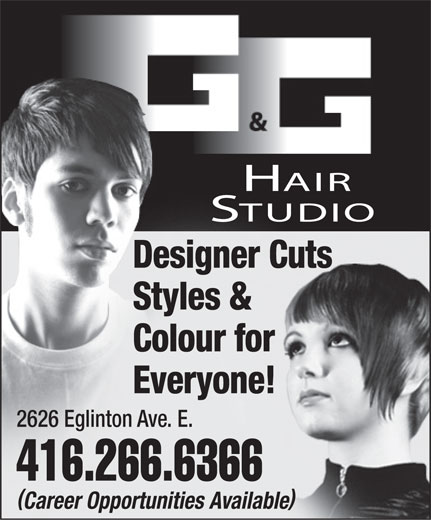 Ads G & G Hair Studio