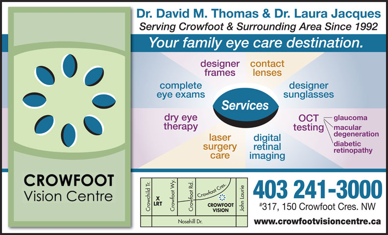 Ads Crowfoot Vision Centre