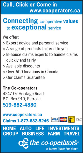 Ads Co-operators The