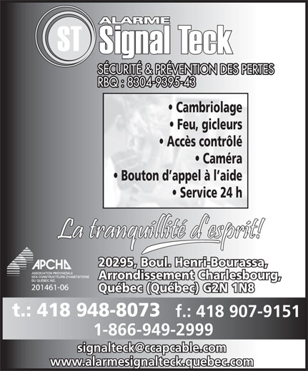 Ads Signal-Teck Inc