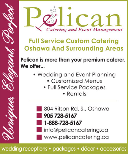 Ads Pelican Catering &amp; Event Planning