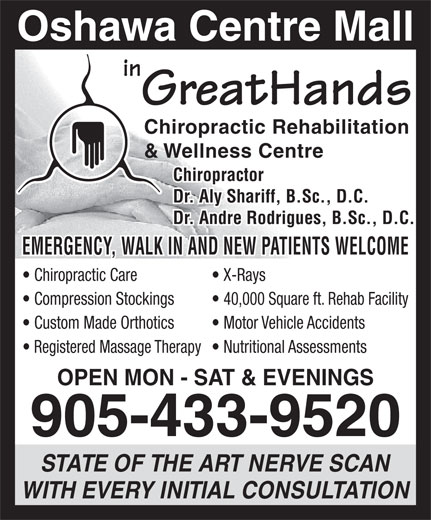 Ads In Greathands Chiropractic Rehab &amp; Wellness