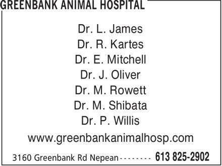 Ads Greenbank Animal Hospital