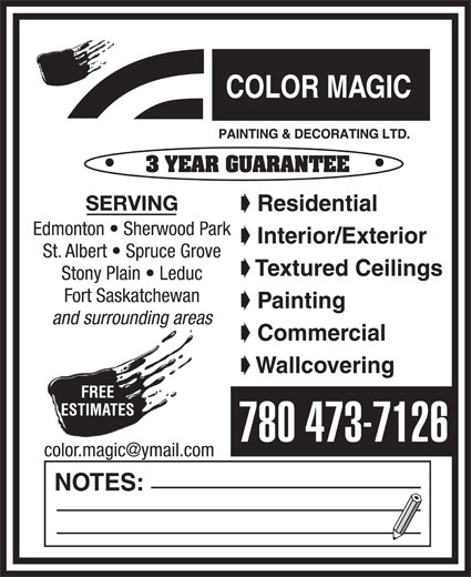 Ads Color Magic Painting & Decorating Ltd