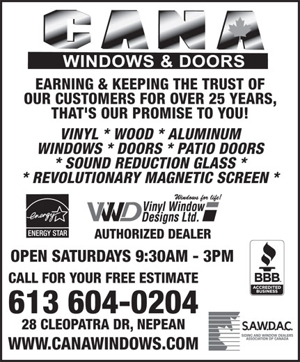 Ads Cana Windows & Doors