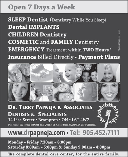 Ads Papneja Terry Dr & Associates