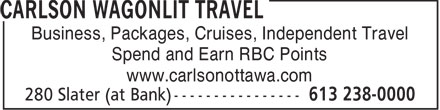 Ads Carlson Wagonlit Travel