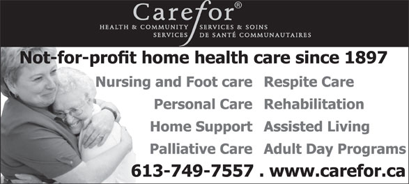 Ads Carefor Health &amp; Community Services