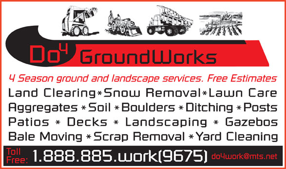 Ads DO 4 Groundworks