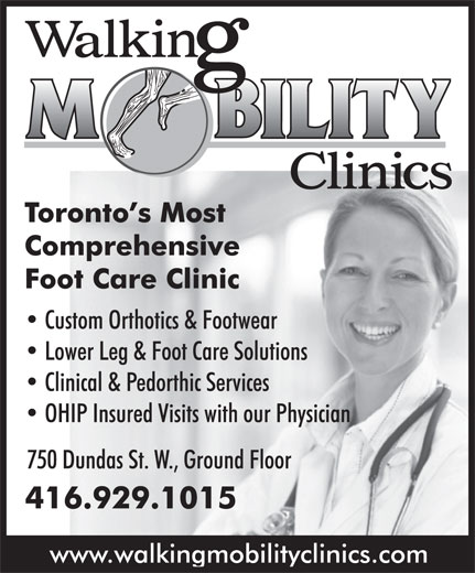 Ads Walking Mobility Clinic