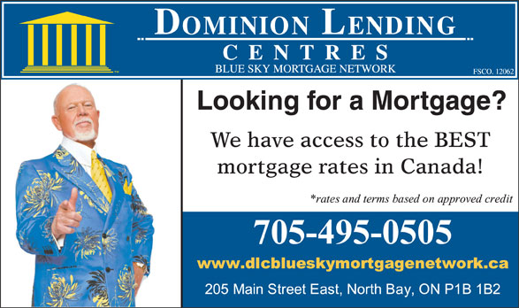 Ads Dominion Lending Centre