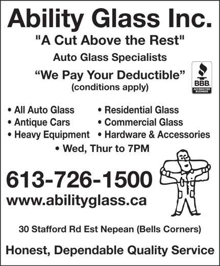 Ads Ability Glass Inc