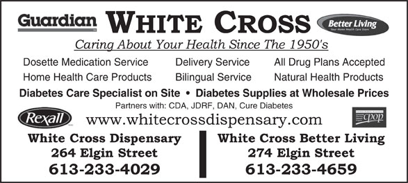 Ads White Cross Dispensary