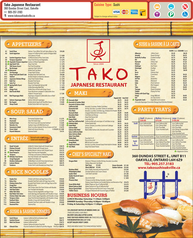 Ads Tako Japanese Restaurant