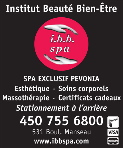 Ads I B B Spa-Institut Beaut Bien-Etre