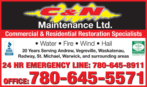Ads C&N Maintenance Ltd