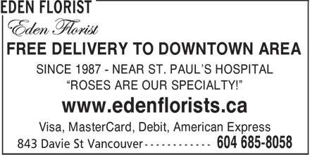 Ads Eden Florist
