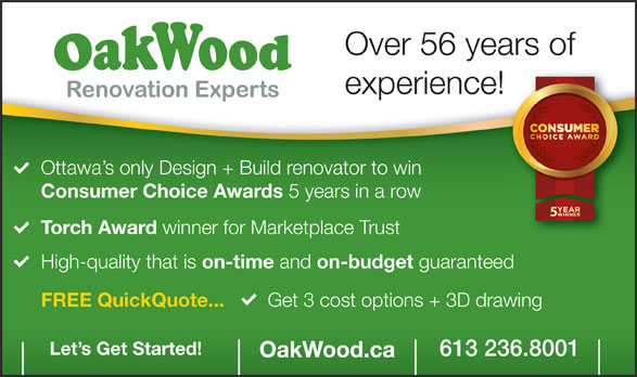 Ads OakWood Renovation Experts