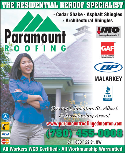 Ads Paramount Roofing