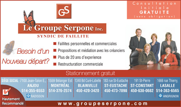 Ads Groupe Serpone (Le)