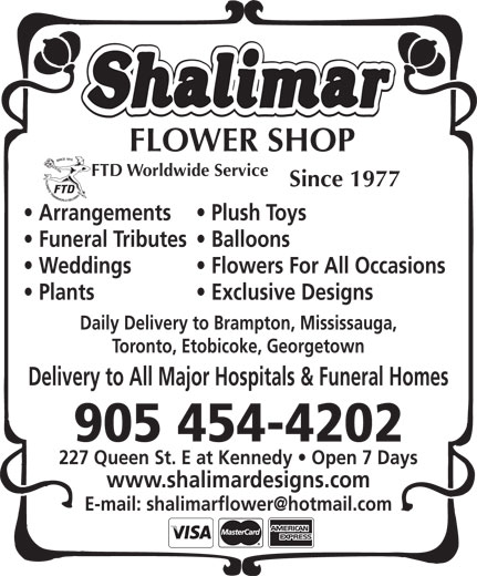 Ads Shalimar Designs