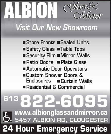 Ads Albion Glass & Mirror