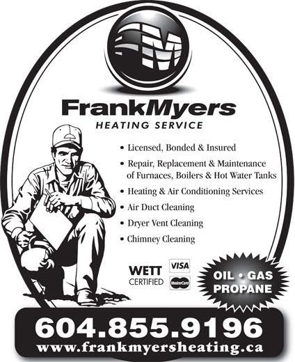 Ads Frank Myers Heating Services