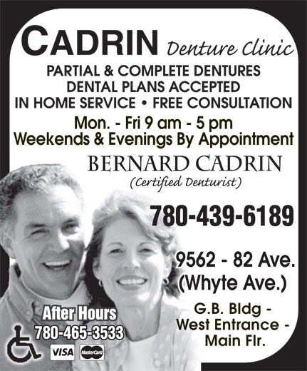 Ads Cadrin Denture Clinic