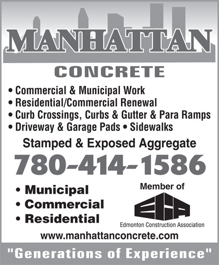 Ads Manhattan Concrete