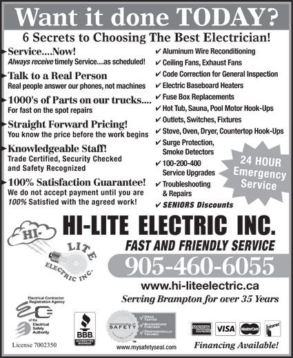 Ads Hi-Lite Electric Inc