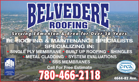 Ads Belvedere Roofing Ltd