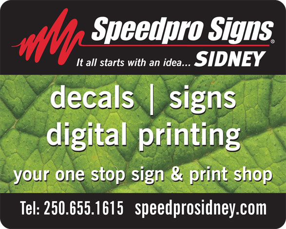 Ads Speedpro Signs Decals & Digital Printing