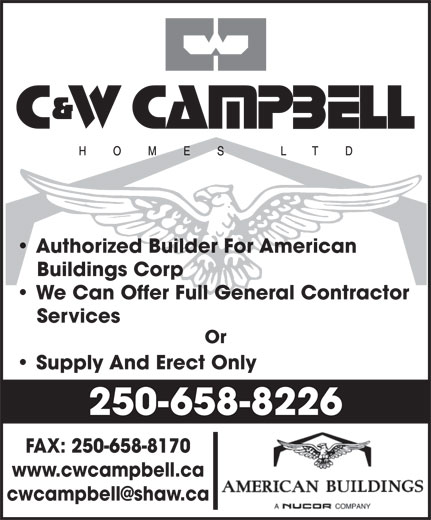 Ads C&W Campbell Homes Ltd