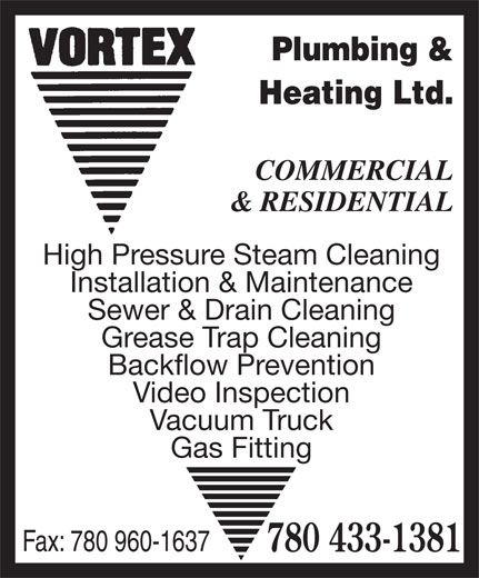 Ads Vortex Plumbing &amp; Heating Ltd