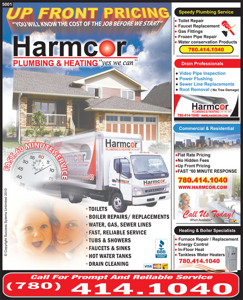 Ads Harmcor Plumbing & Heating Ltd