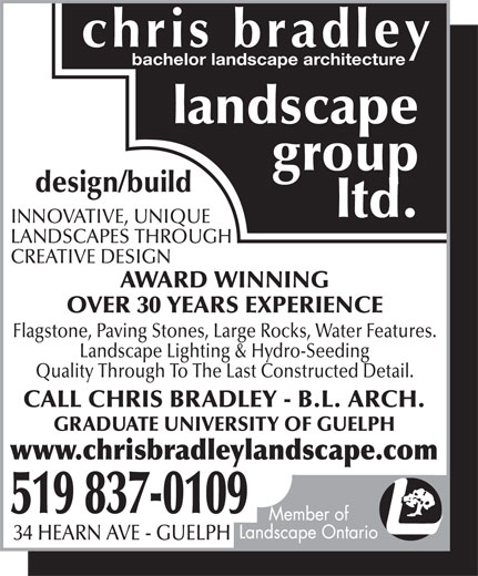 Ads Chris Bradley Landscape Group Ltd