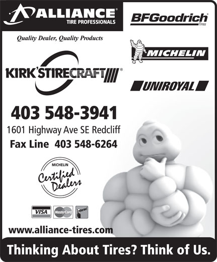 Ads Kirks Tire-Alliance Tire Professionals
