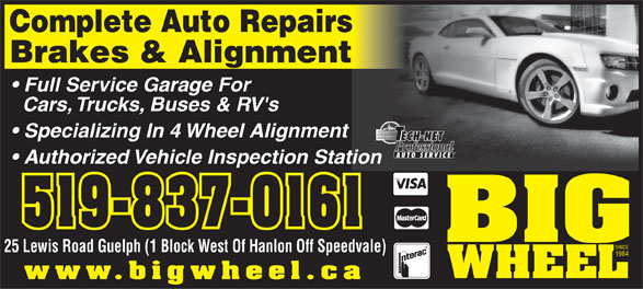 Ads Big Wheel Brake & Alignment Ltd