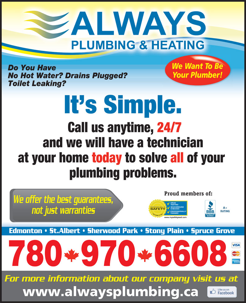Ads Always Plumbing & Heating