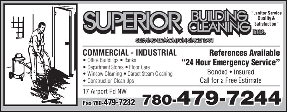 Ads Superior Building Cleaning Ltd