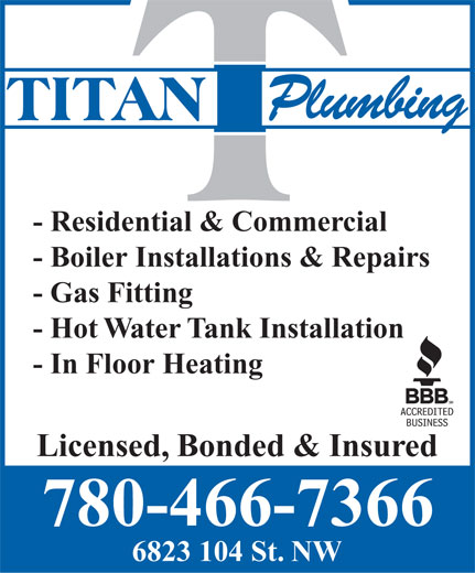 Ads Titan Plumbing