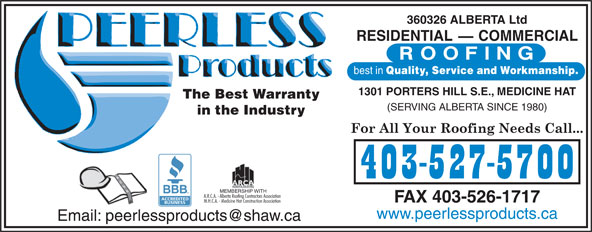 Ads Peerless Building Products
