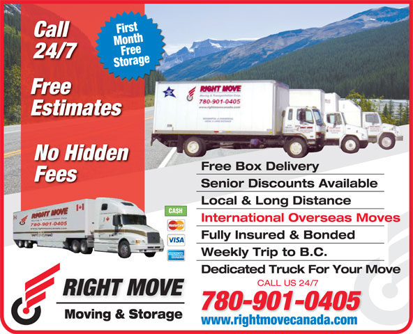 Ads Right Move Moving & Storage