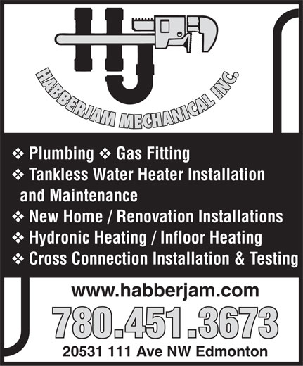 Ads Habberjam Mechanical Inc