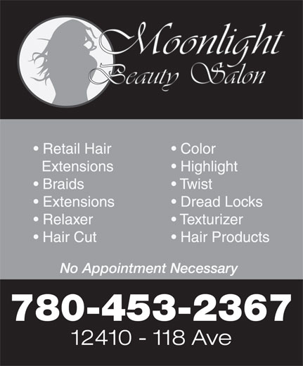 Ads Moonlight Beauty Salon