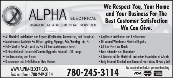 Ads Alpha Electrical Services