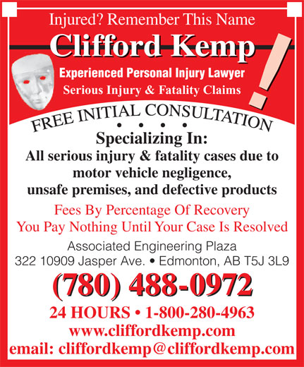 Ads Clifford Kemp