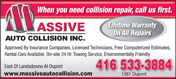 Ads Massive Auto Collision