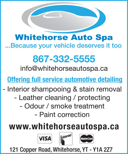 Ads Whitehorse Auto Spa