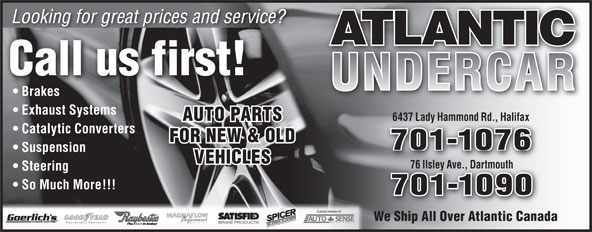 Ads Atlantic UnderCar
